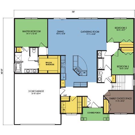 wausau homes floor plans juniper floor plan 3 beds 2 baths 2060 sq ft wausau homes