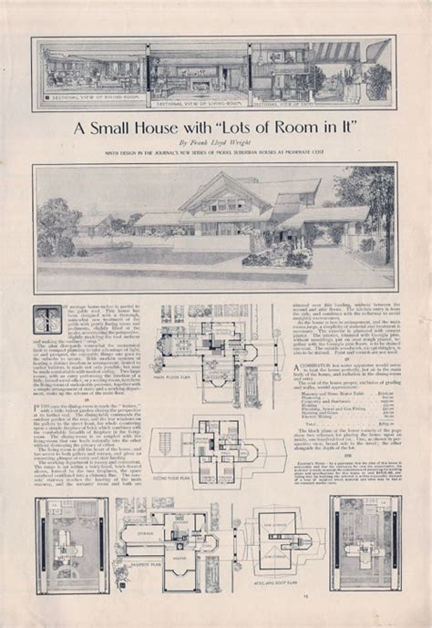 Home Journals Frank Lloyd Wright