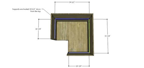 kitchen corner cabinet plans corner kitchen cabinet plans lower supports
