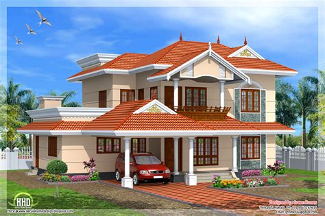 kerala style 4 bedroom home design indian house plans
