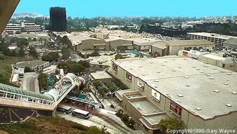 universal studios hollywood view of the back lot (photo)