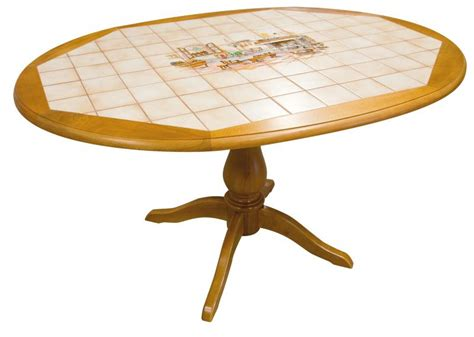 table carrel馥 cuisine stunning table ovale carrele en htre x cm with table de