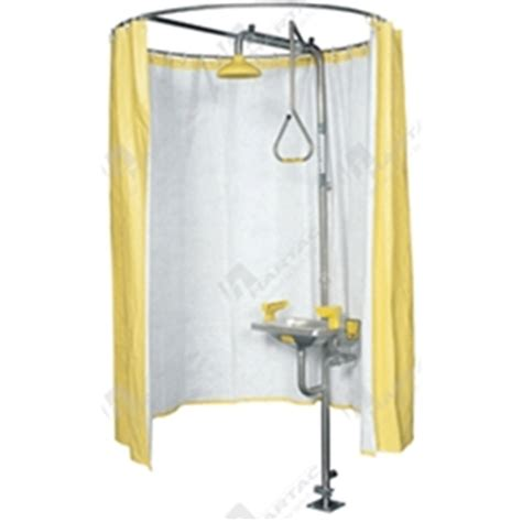 safety shower curtain safety shower eye face spare parts hartac australia