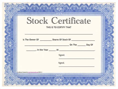 basic certificate template 42 stock certificate templates free word pdf excel formats