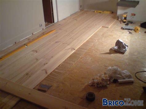 plancher en pin massif le bois chez vous