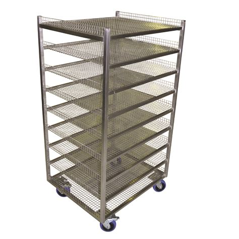Mesh Cooling Rack by Custom Bread Cooling Rack Trolley Advance Trolleys