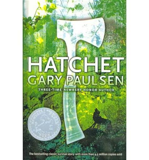 hatchet book pictures hatchet gary paulsen 9780756979119