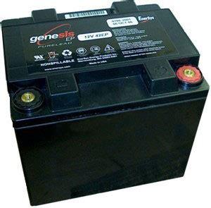 genesis battery genesis ep 12 volt 42 ah battery batterymart