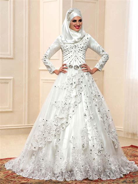 Sle Designer Wedding Dresses by Muslim Wedding Dress Pictures Www Imgkid The