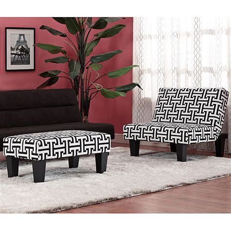 kebo chair black and white geometric pattern with dark disco kebo chair ottoman black and white geometric