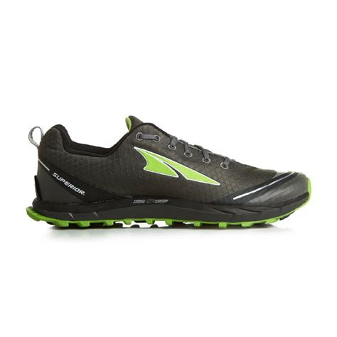 running shoes with zero drop altra superior 2 0 zero drop running shoes grey green mens