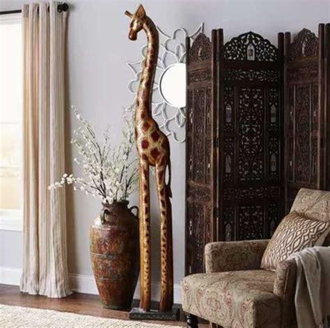 tall home decor tall sculpture for home giraffe design home design