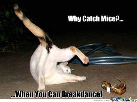 Break Dance Meme - break dancing cat by bambie92 meme center