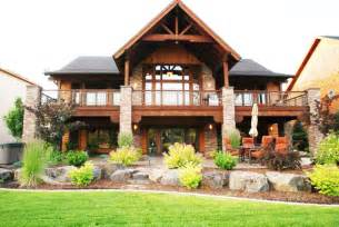 luxury ranch house plans with walkout basement style new walk out home designs