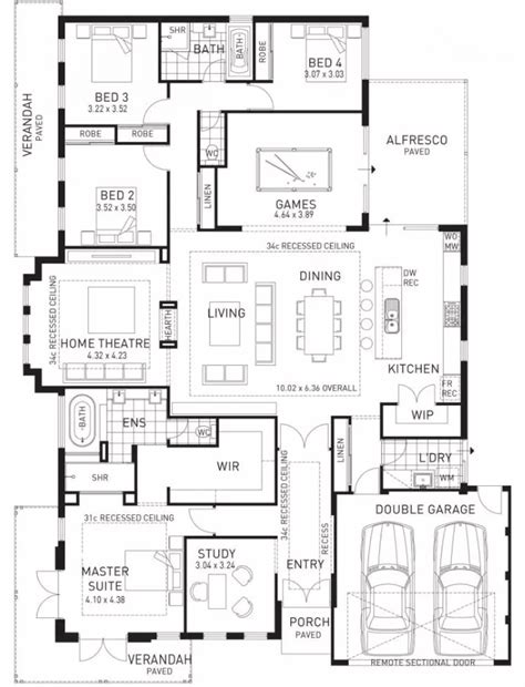 house plans with living room in front floor plan friday at the back parents at the front
