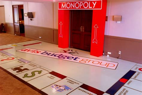 monopoly themed events event design gallery