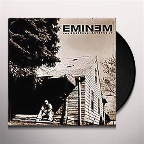 eminem vinyl eminem marshall mathers lp vinyl record