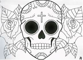 skull coloring pages sugar skull coloring pages coloring home