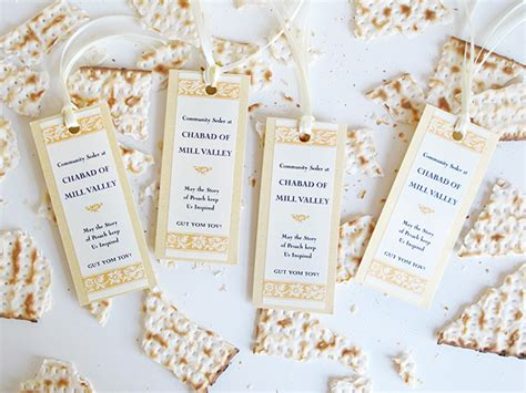 Simple Home Decoration For Birthday Passover Bookmarks Gift Amp Favor Ideas From Evermine