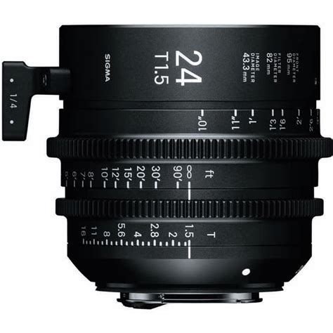 Sigma 24mm T1 5 Ff High Speed Prime Ef Mount sigma 24mm t1 5 ff high speed prime ef mount 401966 b h photo