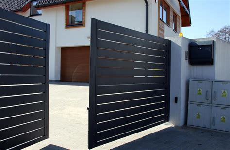 fence designs for house modern house gates and fences designs