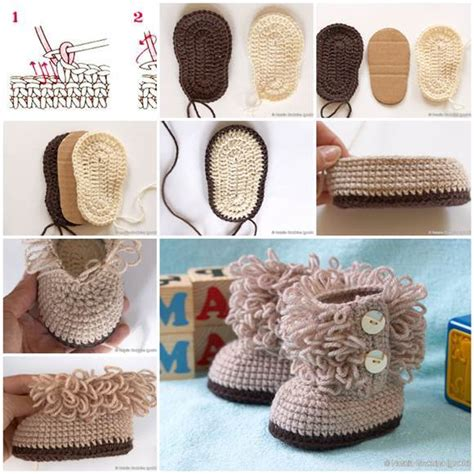 Baby Shower Crafts Pinterest by Creative Ideas Diy Baby Ugg Boots