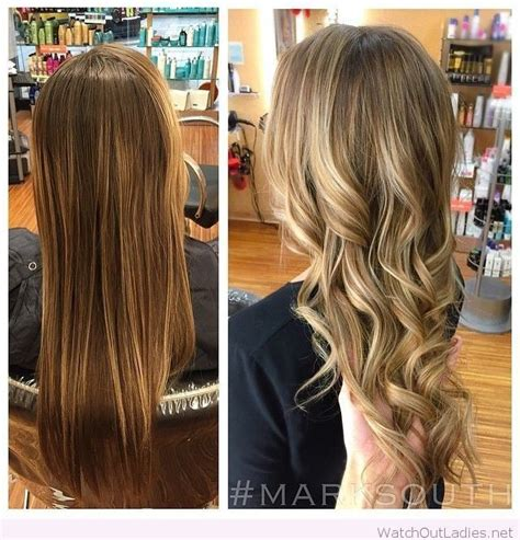 brown hair to blonde balayage before and after going from brown to blonde before and after www pixshark