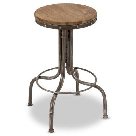 How To Raise Bar Stool Height by Industrial Wood Bar Stool Furniture Decorating