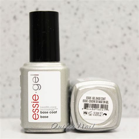 essie gel uv l essie soak off uv led gel polish base coat 0 42 oz 12 5 ml