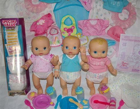 anatomically correct boy doll that wets baby alive wets and wiggles triplets boy 2