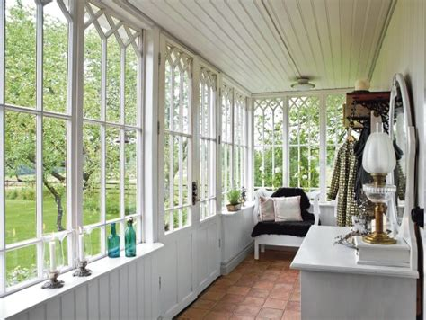 Country Style Windows | croft on the countryside in sweden nordic bliss