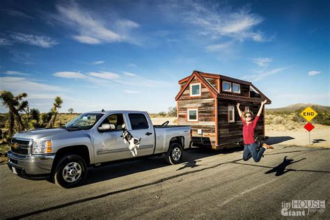 tiny house mobile home we quit our jobs built a tiny house on wheels and hit the road bored panda