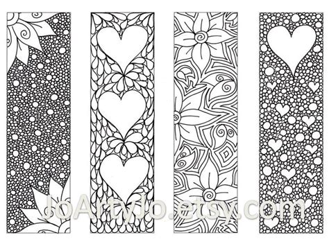 free printable bookmarks you can color bookmark coloring pages inofations for your design