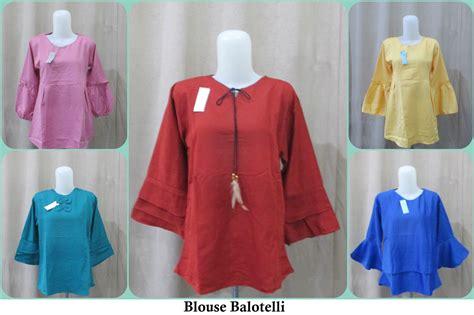 Pusat Grosir Baju Amidis Blouse Linen pusat grosir blouse balotelli dewasa model terbaru murah 28ribu