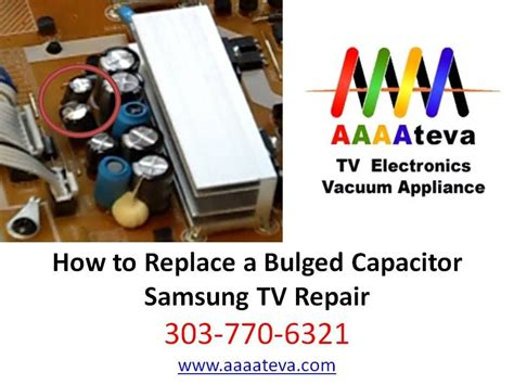 samsung tv repair capacitor replacement samsung tv repair capacitor replacement denver littleton centennial colorado