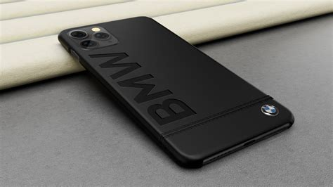 bmw  apple iphone  pro max official racing leather