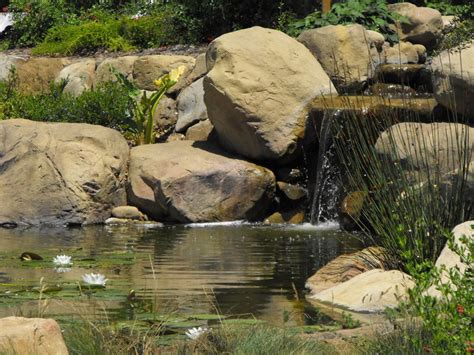 rock garden pond beautiful small pond design to complete your home garden