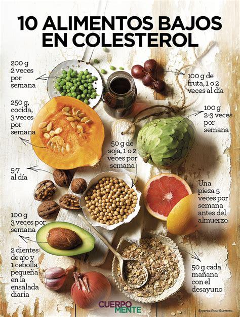 trigliceridos alimentos 10 alimentos bajos en colesterol