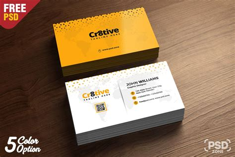 basic business card template psd simple business card design template psd
