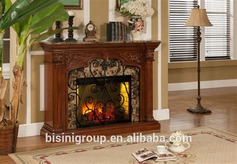 bisini faux electric fireplace polystone electric