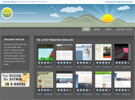 Free Web Templates For Cheap Web Layouts Free Website Templates Layouts