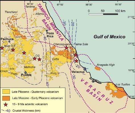 eastern mexico map map of eastern mexico mexico map