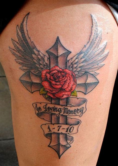 tattoo cross rip rip tattoos for men ideas and designs for guys
