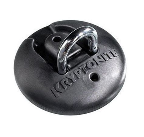 Kryptonite Floor Anchor by Kryptonite Stronghold Floor Anchor Motorcycle Bike Ebay