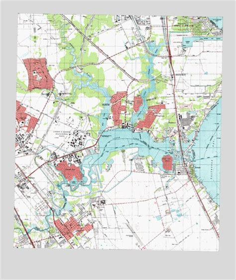 league city texas map league city tx topographic map topoquest