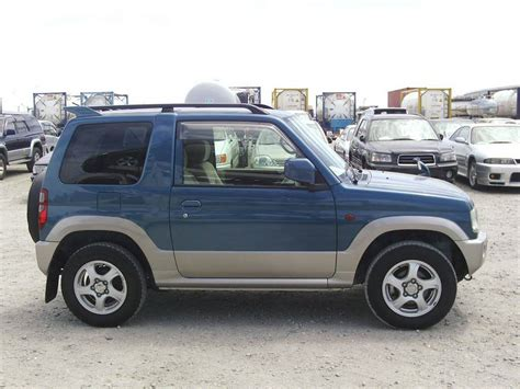 mitsubishi mini dimensions 2005 mitsubishi pajero mini pictures information and