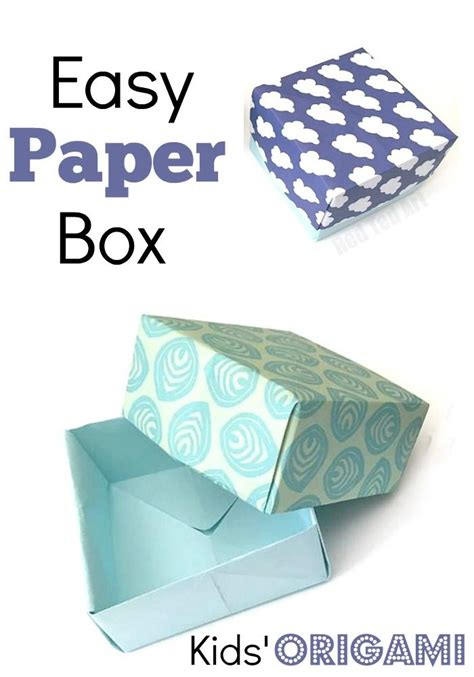 Make A Box From Paper - 25 best ideas about paper box tutorial on