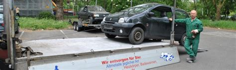 Wieviel Bekomme Ich Noch F R Mein Auto by Kostenlose Autoentsorgung Nrw Und 200 Kassieren Auto