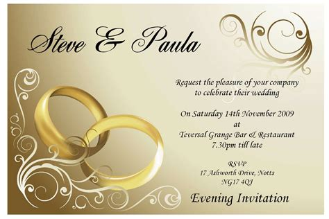 Wedding Invitation Corel Draw by Wedding Invitations Templates Invitation For Marriage 30