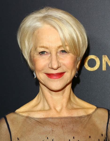 helen mirren hairstyles images helen mirren short hairstyles looks stylebistro